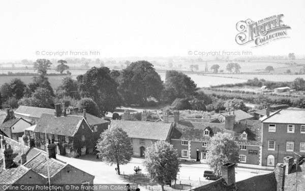 Photo of Woolpit, The Square c.1955