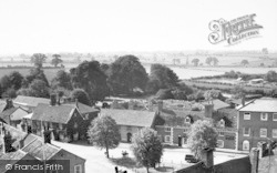 Woolpit, The Square c.1955
