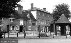 Woolpit, The Swan Inn c.1955