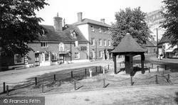Woolpit, The Swan Inn c.1960