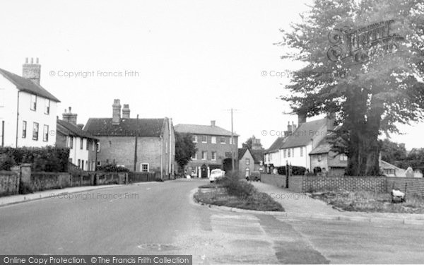 Photo of Woolpit, The Village c.1955
