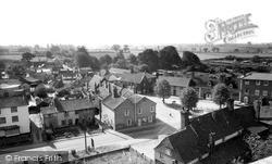 Woolpit, The Village c.1960