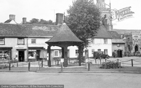 Photo of Woolpit, The Village Centre c.1955
