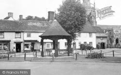 Woolpit, The Village Centre c.1955