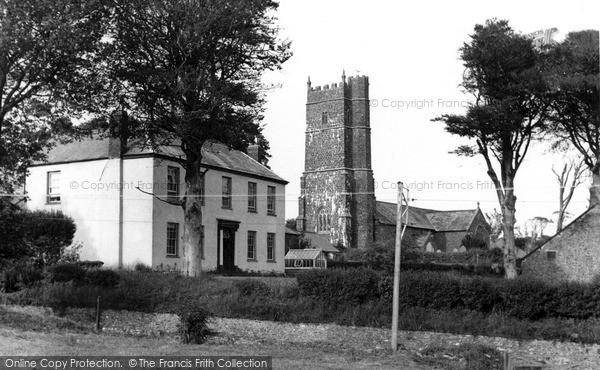 Woolsery, All Hallows Church c1960