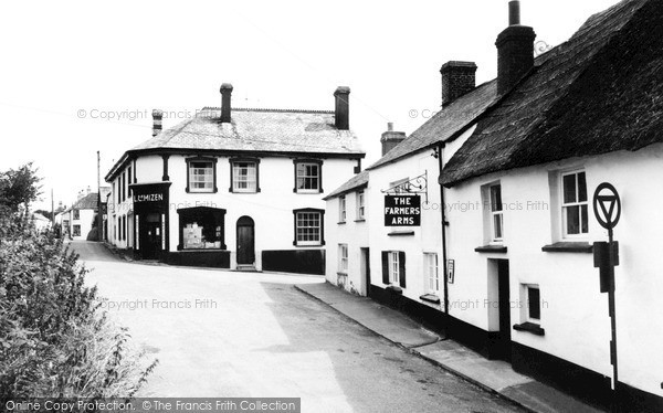 Photo of Woolsery, The Farmers Arms And Post Office c.1960
