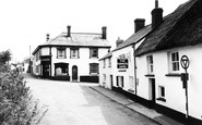 Woolsery, the Farmers Arms and Post Office c1960