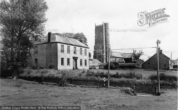 Photo of Woolsery, The Manor And All Hallows Church c.1960