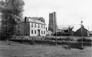 Woolsery, the Manor and  Church c1960