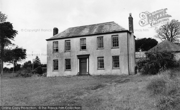 Photo of Woolsery, The Manor c.1960