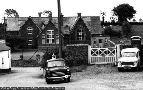 Photo of Woolsery, The School c.1960