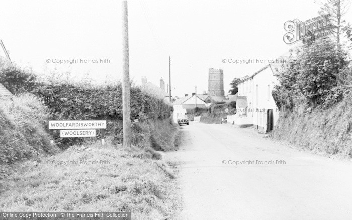 Photo of Woolsery, The Village c.1960