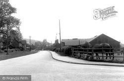 Woolsthorpe, Cross Road By Belvoir c.1955