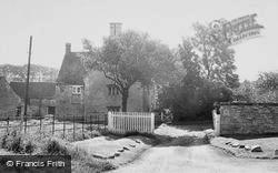 Woolsthorpe, Manor c.1955, Woolsthorpe By Belvoir