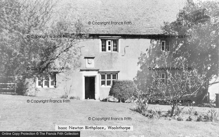 Photo of Woolsthorpe, Sir Isaac Newton's Birthplace c.1939