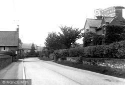 Woolsthorpe, The Village By Belvoir c.1955, Woolsthorpe By Belvoir