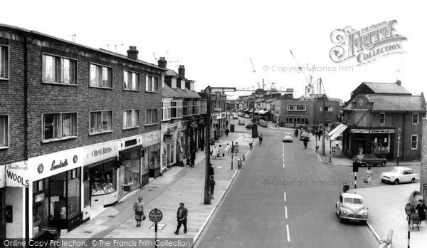 Photo of Woolston, Bridge Road c.1960
