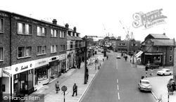 Woolston, Bridge Road c.1960
