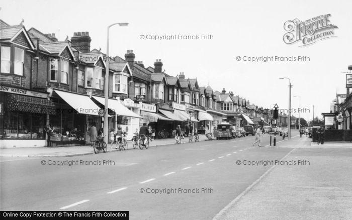 Photo of Woolston, Bridge Road c.1965