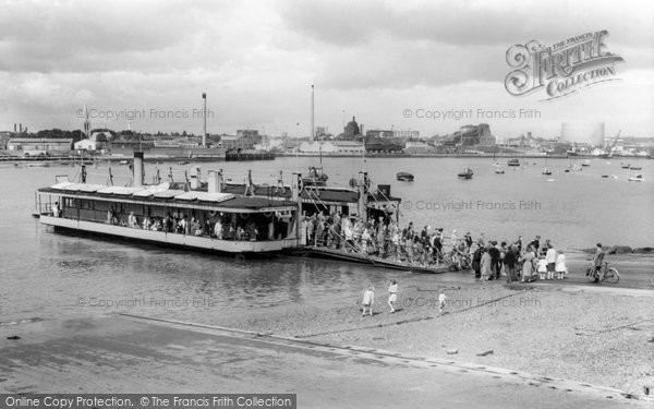 Photo of Woolston, Floating Bridge c.1960