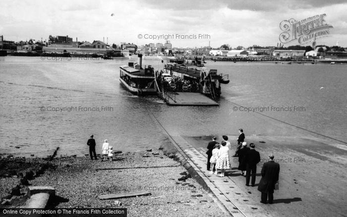 Photo of Woolston, Floating Bridge c.1960