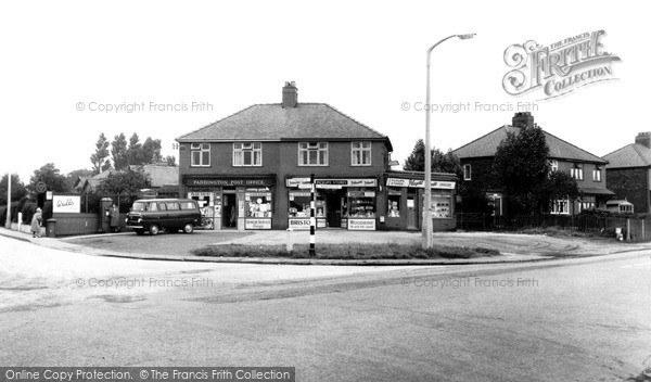 Photo of Woolston, Holes Lane Corner c.1955