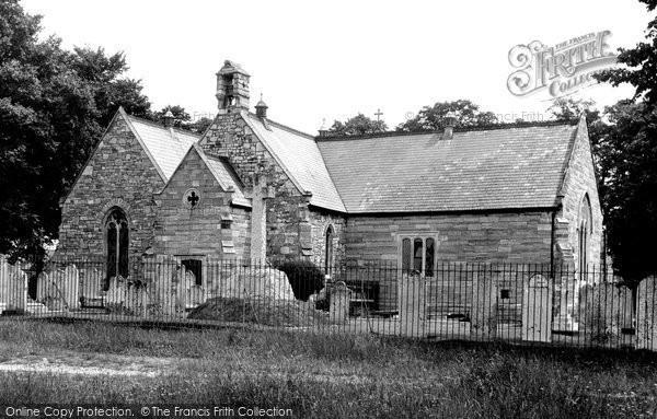 Photo of Woolston, Peartree Church c.1960