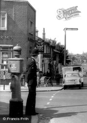 Policeman In Portsmouth Road c.1960, Woolston