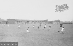 Woolston, Primary School, Football Match c.1955