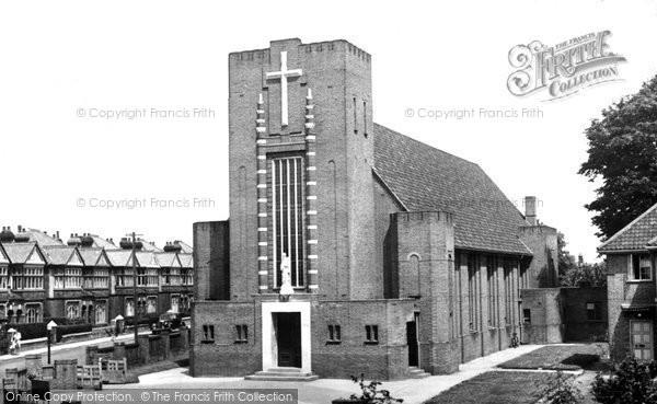 Photo of Woolston, St Patrick's Roman Catholic Church c.1955