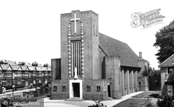 Woolston, St Patrick's Roman Catholic Church c.1955