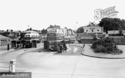 Woolston, The Bus Station c.1960