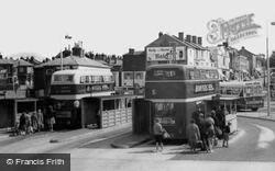 The Bus Station c.1960, Woolston