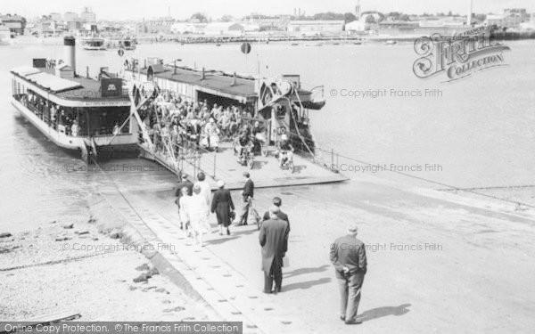 Photo of Woolston, The Floating Bridge c.1960