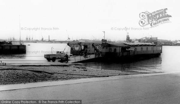 Photo of Woolston, The Floating Bridge c.1960