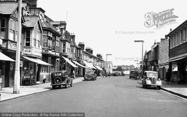 Photo of Woolston, Victoria Road c.1955