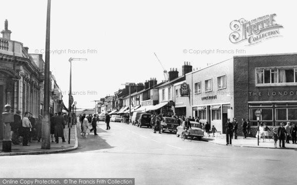 Photo of Woolston, Victoria Road c.1960