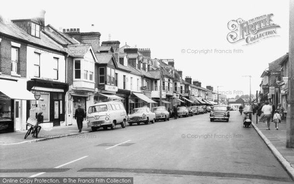 Photo of Woolston, Victoria Road c.1960