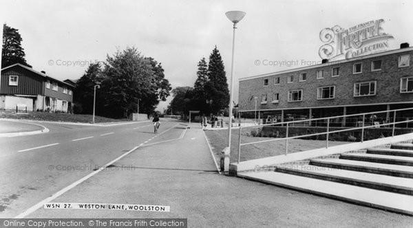 Photo of Woolston, Weston Lane c.1960