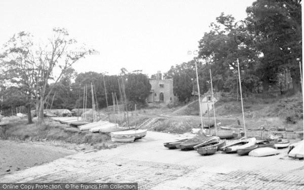 Photo of Woolverstone, Shipyard c.1955