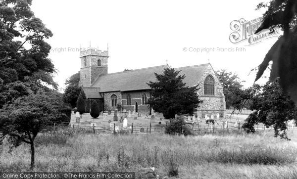 Photo of Woolverstone, St Michael's Church c.1955