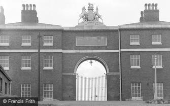 Woolwich, Artillery Barracks 1962