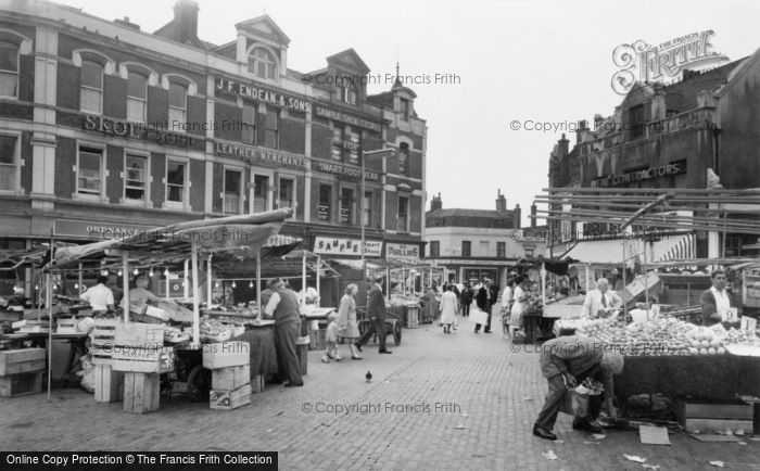 Photo of Woolwich, Market 1963
