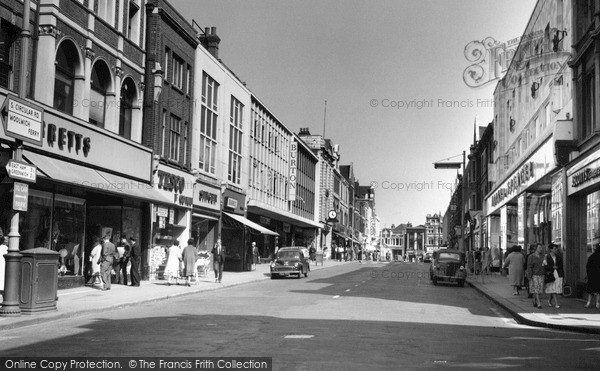 Photo of Woolwich, Powis Street 1962
