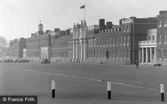 Woolwich, Royal Artillery Barracks 1962