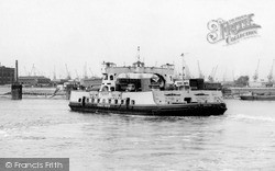 Woolwich, The Ferry 1964