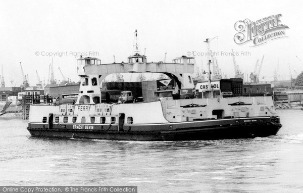 Photo of Woolwich, the Ferry 1964