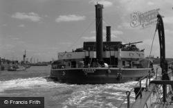 The Ferry, 'gordon' 1961, Woolwich