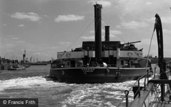 Woolwich, the Ferry, 'Gordon' 1961
