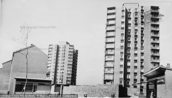 Photo of Woolwich, The Flats c.1960